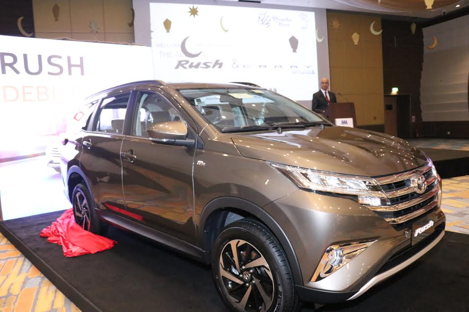 AAB Launch Stylish and dynamic new Toyota Rush