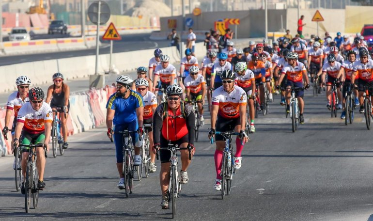 Drive carefully tomorrow .. over 1,000 cyclists to ride on Qatar roads