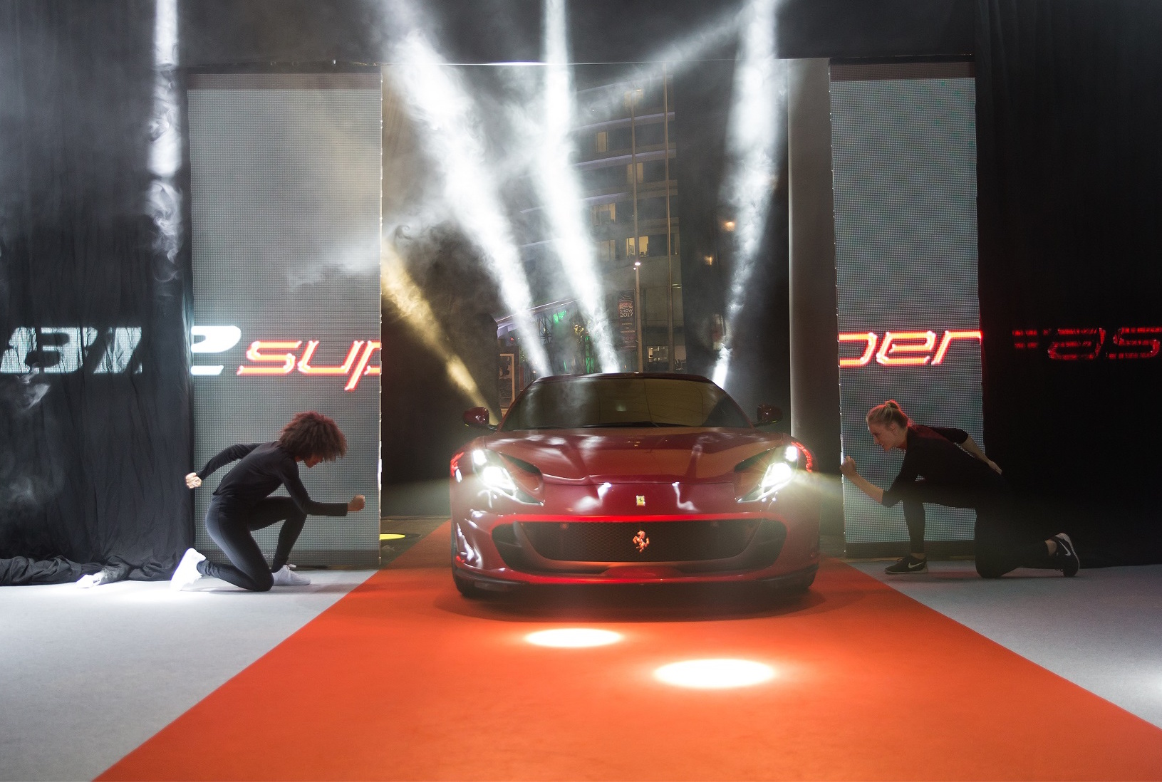 "Ferrari launches its most powerful car ever ""812 Superfast"" in Qatar"