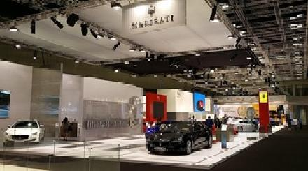 Maserati showcases sartorial excellence