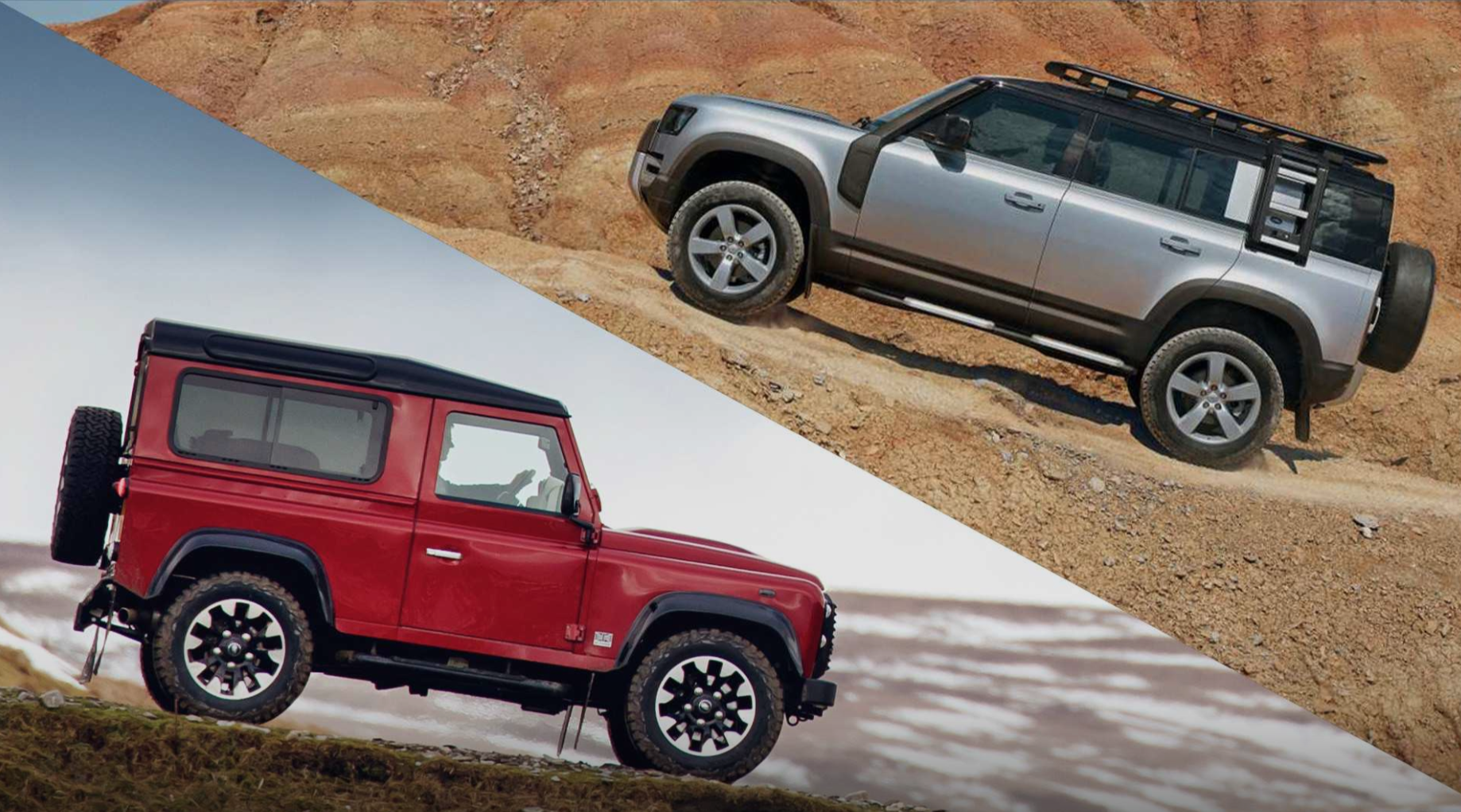Land Rover Defender: Old or New!!