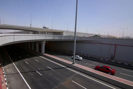 New underpass is open on East Industrial Street