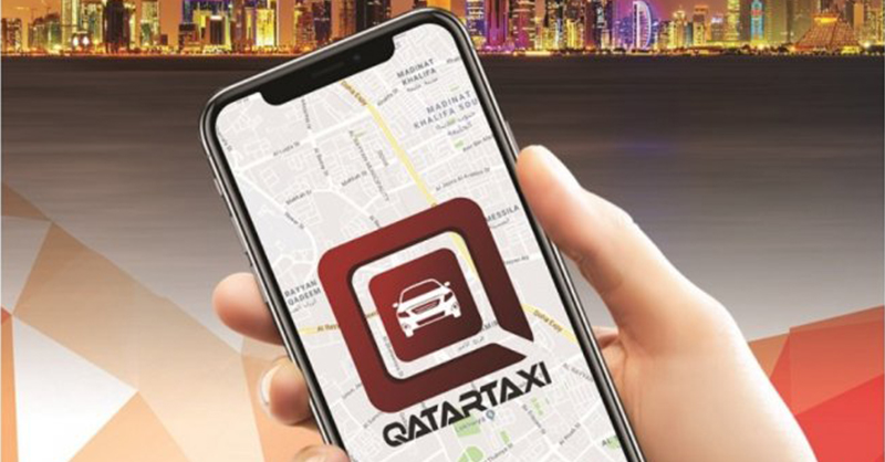 The first app of its kind for taxi booking launched in Qatar