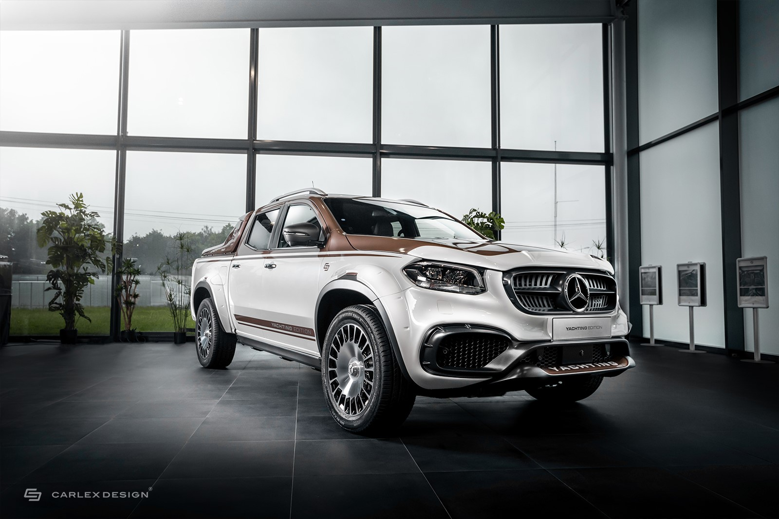 Mercedes-Benz X-Class gets a luxury modification
