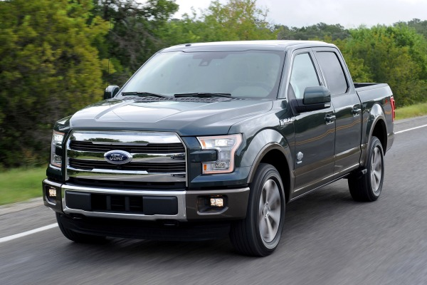 Recall for Ford F150 2015