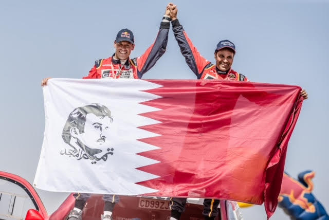 Nasser Al Attiyah is the World Champion in Desert Rally