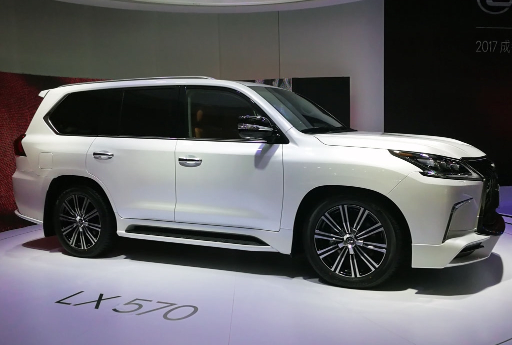 Lexus officially launches LX 570S