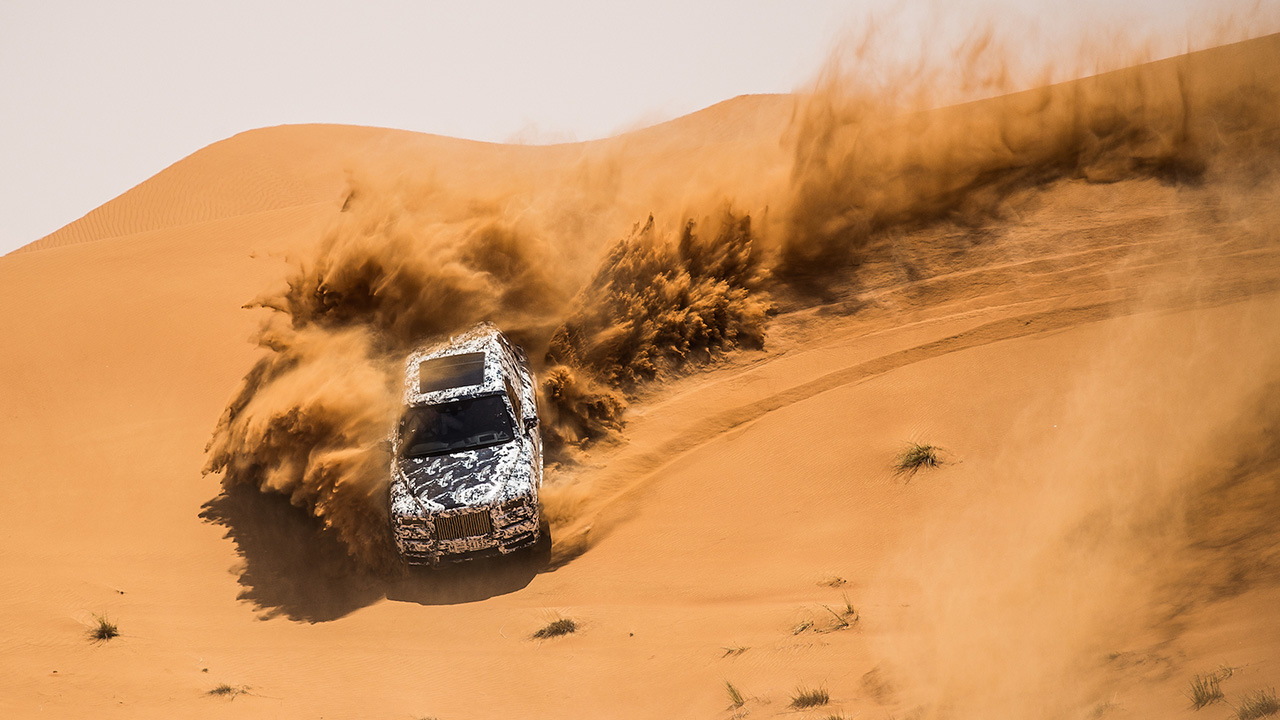 The Superstar Rolls-Royce Collinan test in the Gulf Desert, who stops it!
