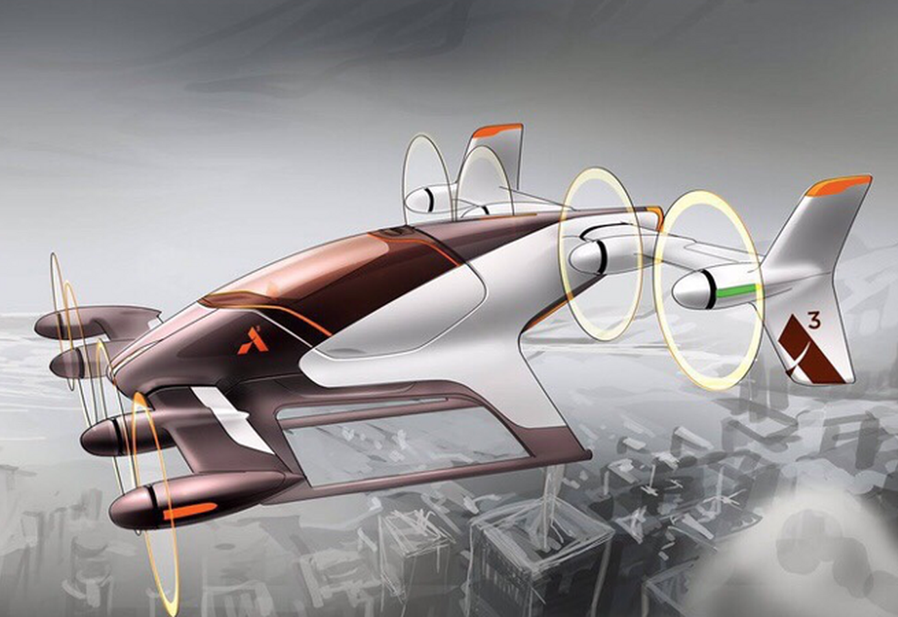 Flying car from Airbus in 2017