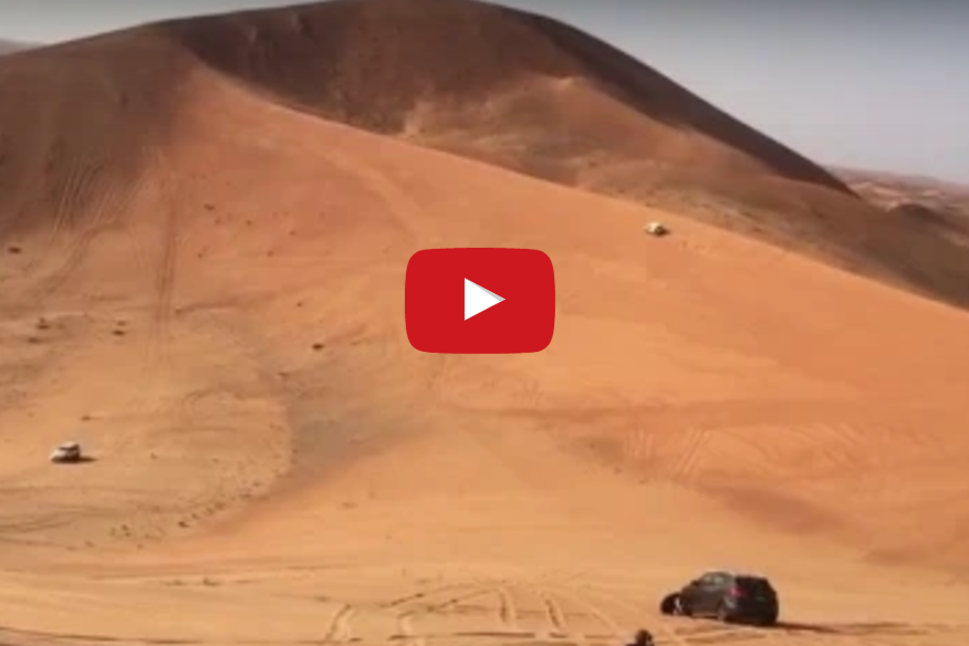 Watch.. A fatal mistake in sand driving