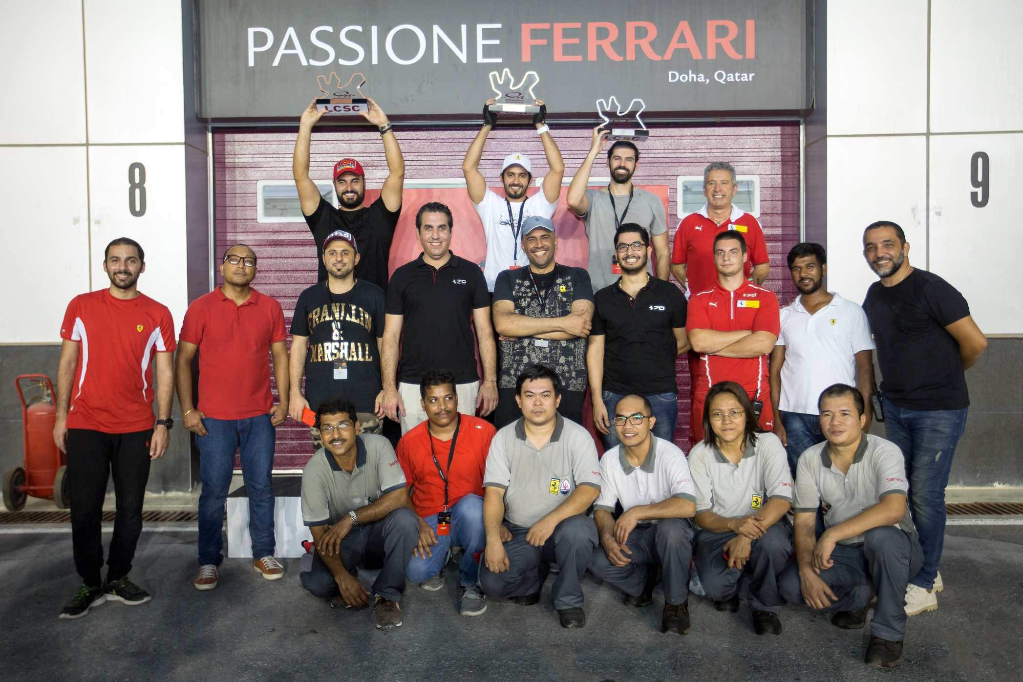 Alfardan Sports Motors celebrates Ferrari racing heritage