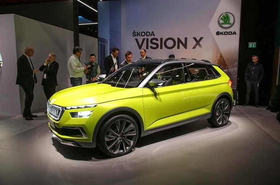 Skoda to reveal the Vision X in Geneva next year