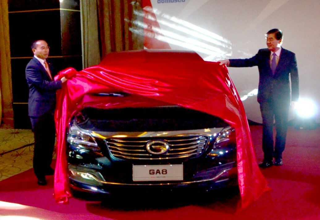 DOMASCO launches GAC Motor's GS8 and GA8 models