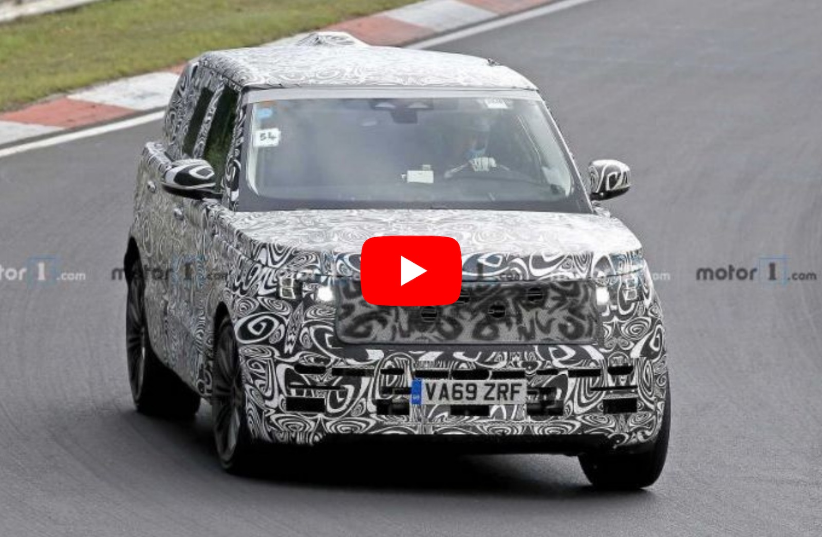 Video .. 2022 Range Rover Vogue Caught On Camera Up Close