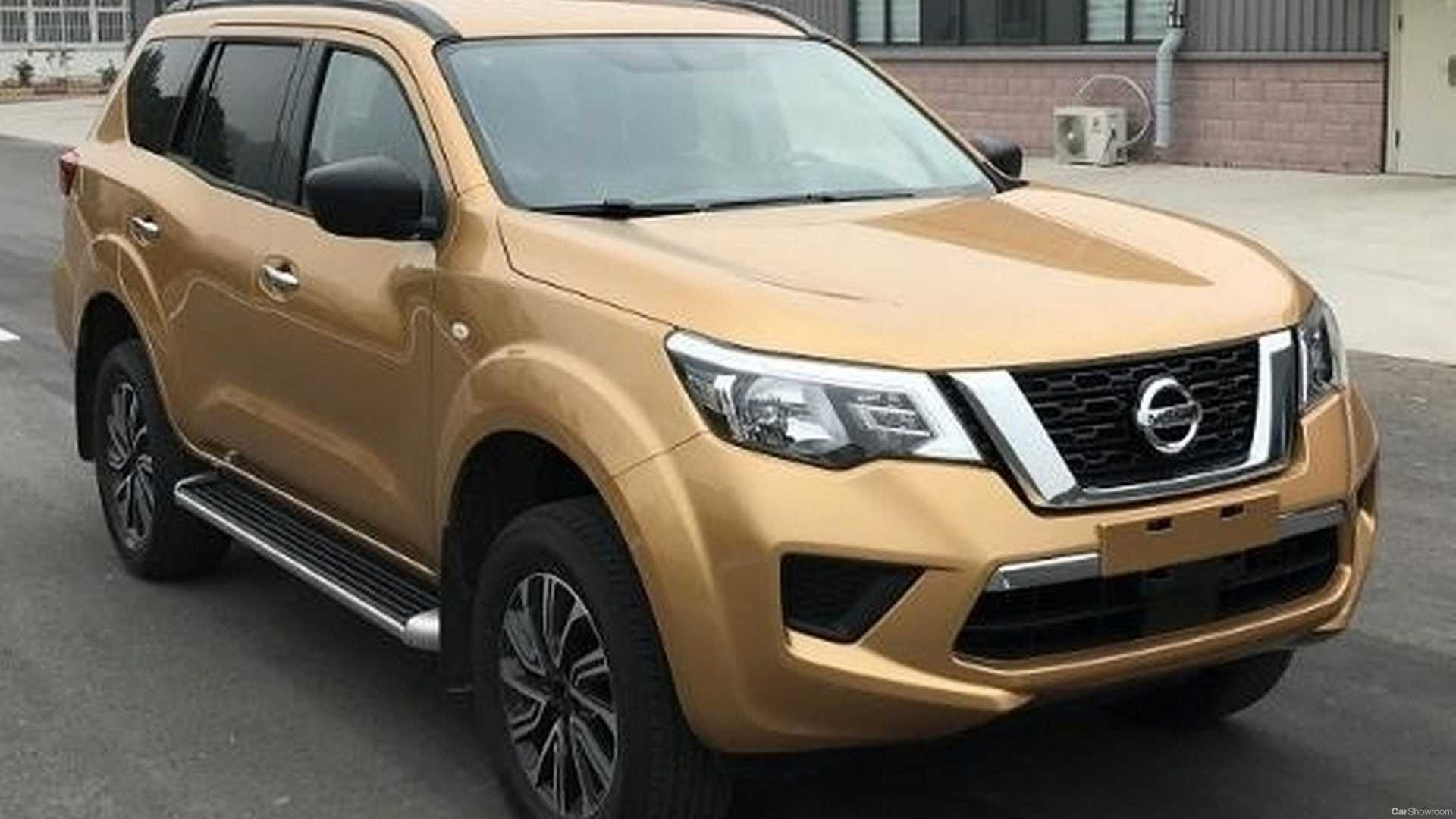 Pictures of the upcoming Nissan Terra 4x4 were leaked by some websites