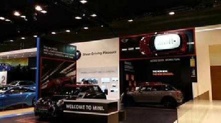الكشف عن سيارة ميني كلوب مان الجديدة في معرض دبي 2015