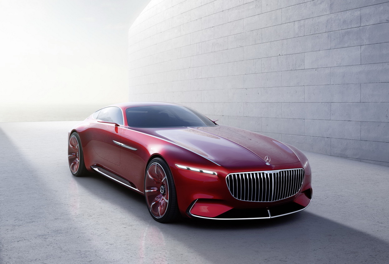 Mercedes Maybach 6 concept coupe leaked
