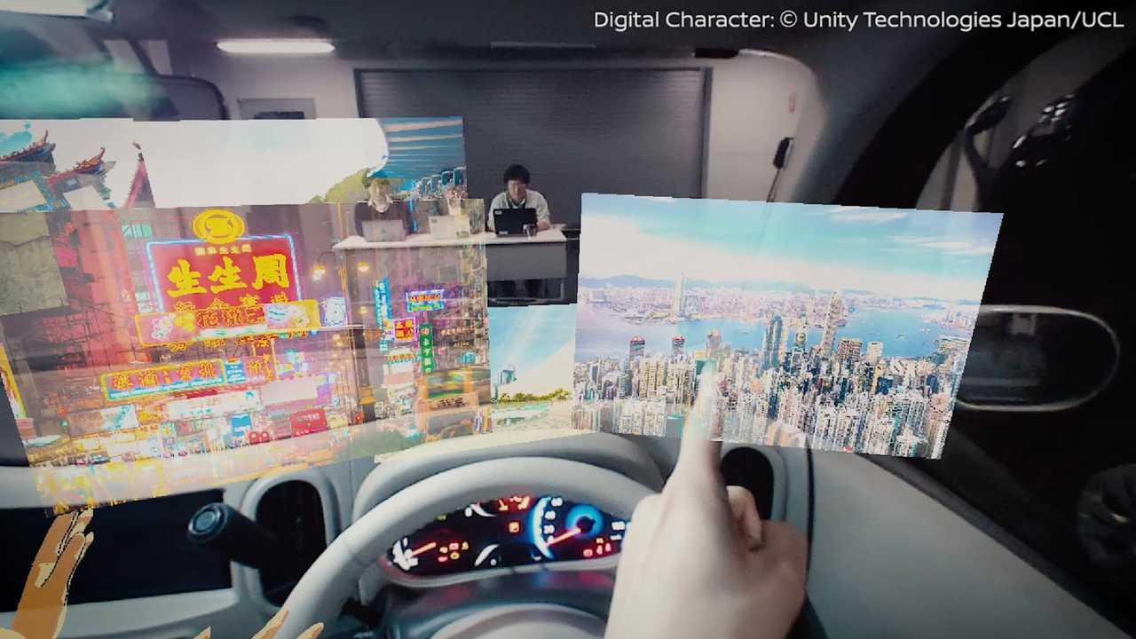 نيسان تطلق تكنولوجيا جديدة للسيارات تحت مسمى I2V