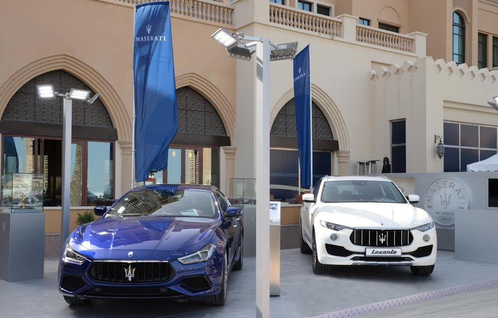 Alfardan Sports Motors participated in Qatar International Boat Show 2018 with Maserati as the Official car sponsor