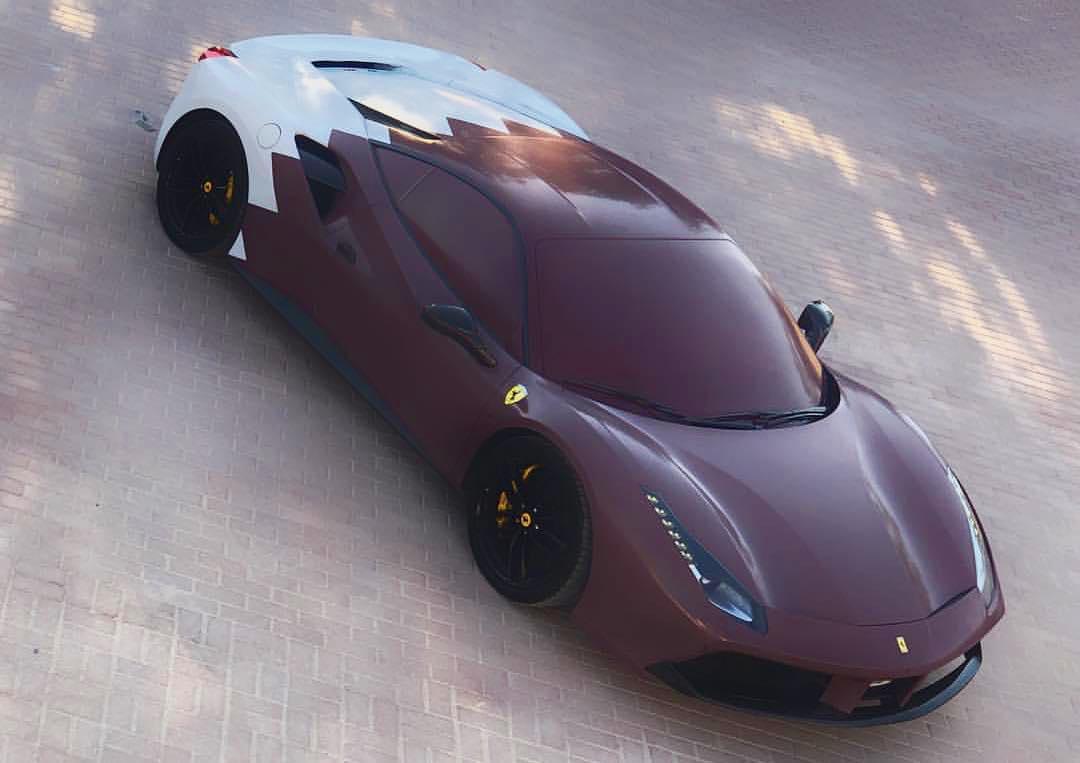 بالصور: أجمل السيارات القطرية المزينة في اليوم الوطني