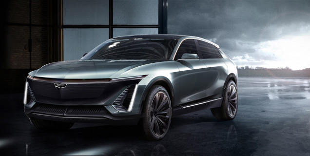 Cadillac reveals its First Electric Vehicle in 2021