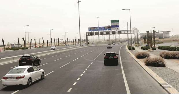Public Works Authority Opens Bani Hajar Intersection on Khalifah Avenue Road