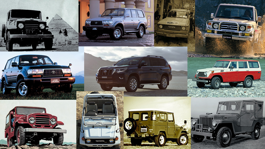 اعرف كم عدد سيارات تويوتا لاندكروزر التي تم بيعها حول العالم