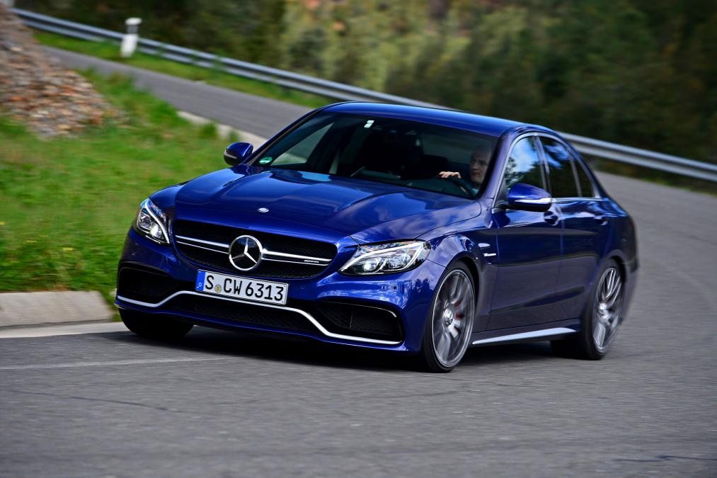 Watch: Interesting Test for 2019 Mercedes-AMG C63 S
