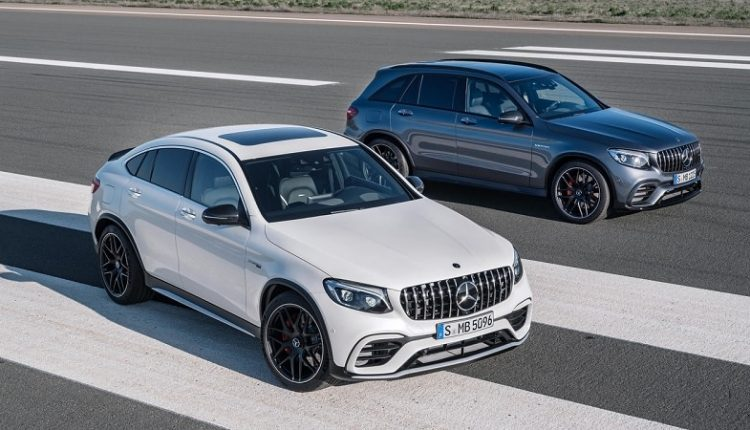Mercedes GLC 63 AMG Appears for the First Time During Testing