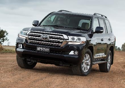 The All new Toyota Land Cruiser 2016