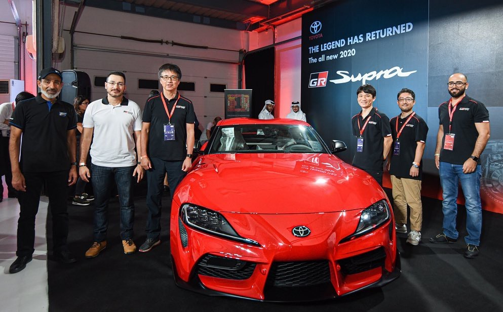 Say hello to the all-new 2020 GR Supra!