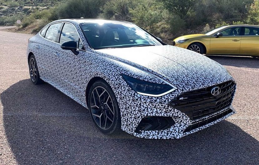 Hyundai Sonata 2021 N-Line competes in power with E-Class