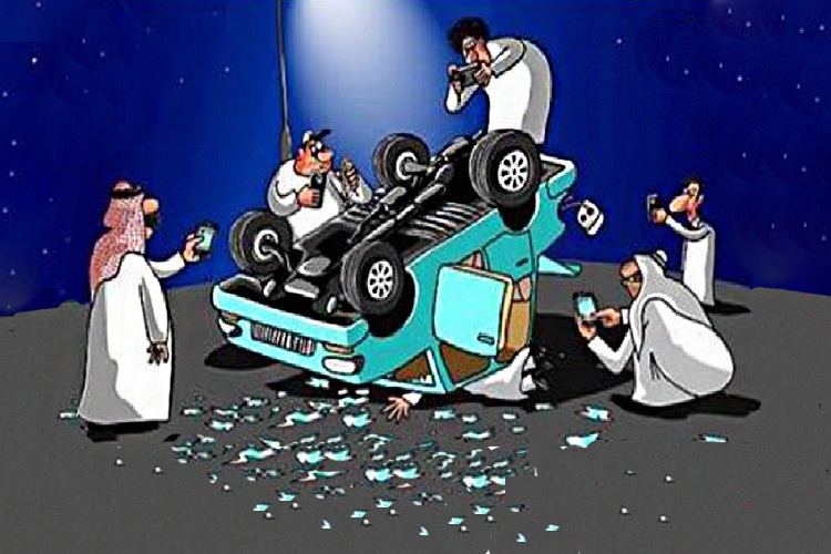 filming or photographing accidents in Qatar could lead to jail