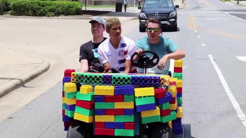 LEGO Cars fun ends with Police