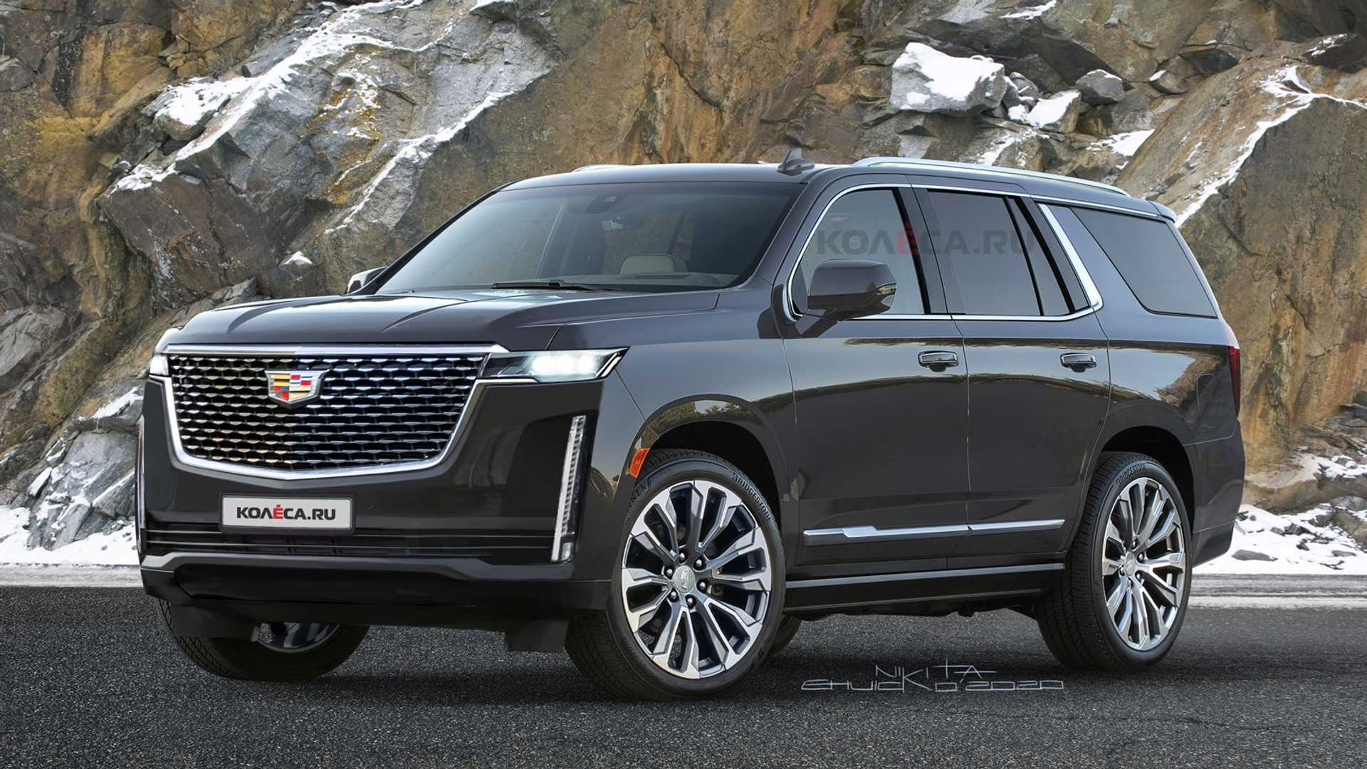 Cadillac Escalade 2021 appears in its expected form