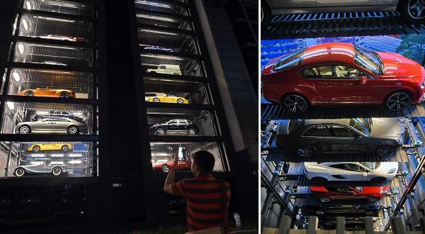 شاهد: ماكينة آلية لبيع السيارات بدلًا من الشكولاتة!