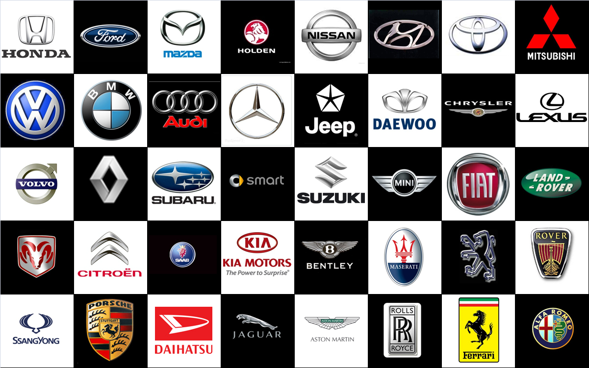Unbelievable! Do you know the meanings of car logos & names?