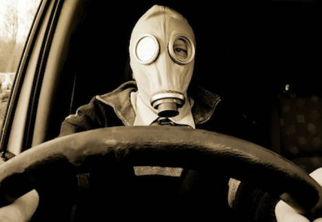 Shocking... Air in your car is polluted 10 times more than the street!