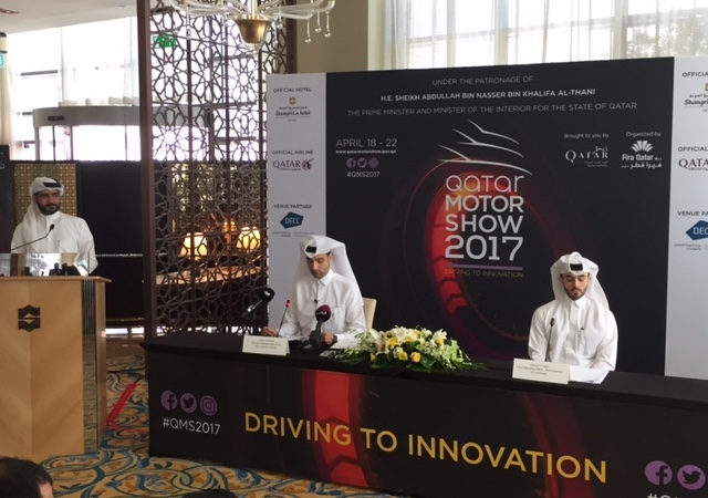 Qatar Motor Show 2017 Set to Showcase Automotive Innovation