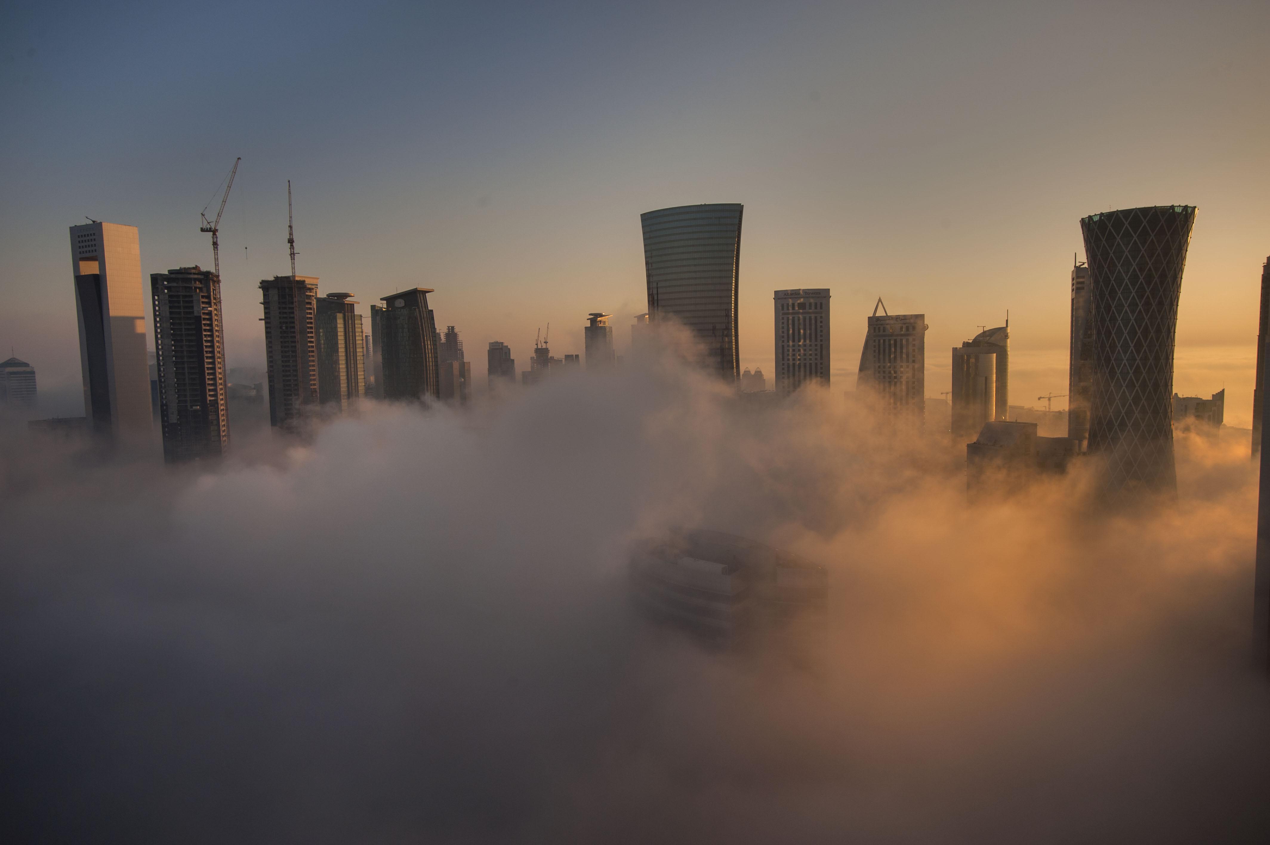 Doha Fog will Continue to Thursday