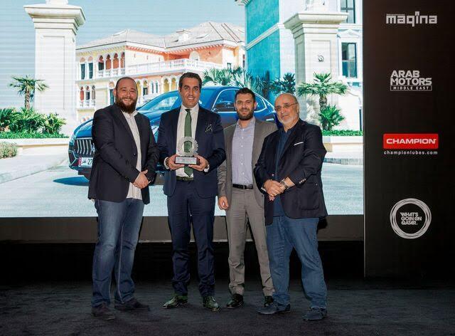 الفردان تحصد جائزة أفضل سيارة سيدان رياضية فاخرة مع سيارة مازيراتي جيبلي
