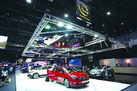All-new Astra Leads 2016 Opel Line-Up at Dubai International Motor Show