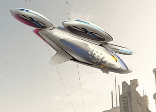 Airbus developing a flying car