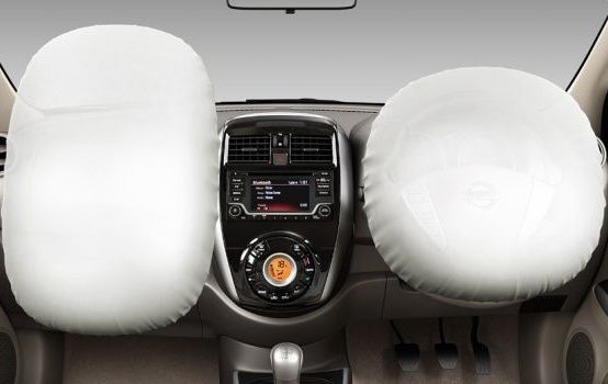 Nissan Sunny: slam the door and the air bags might inflate