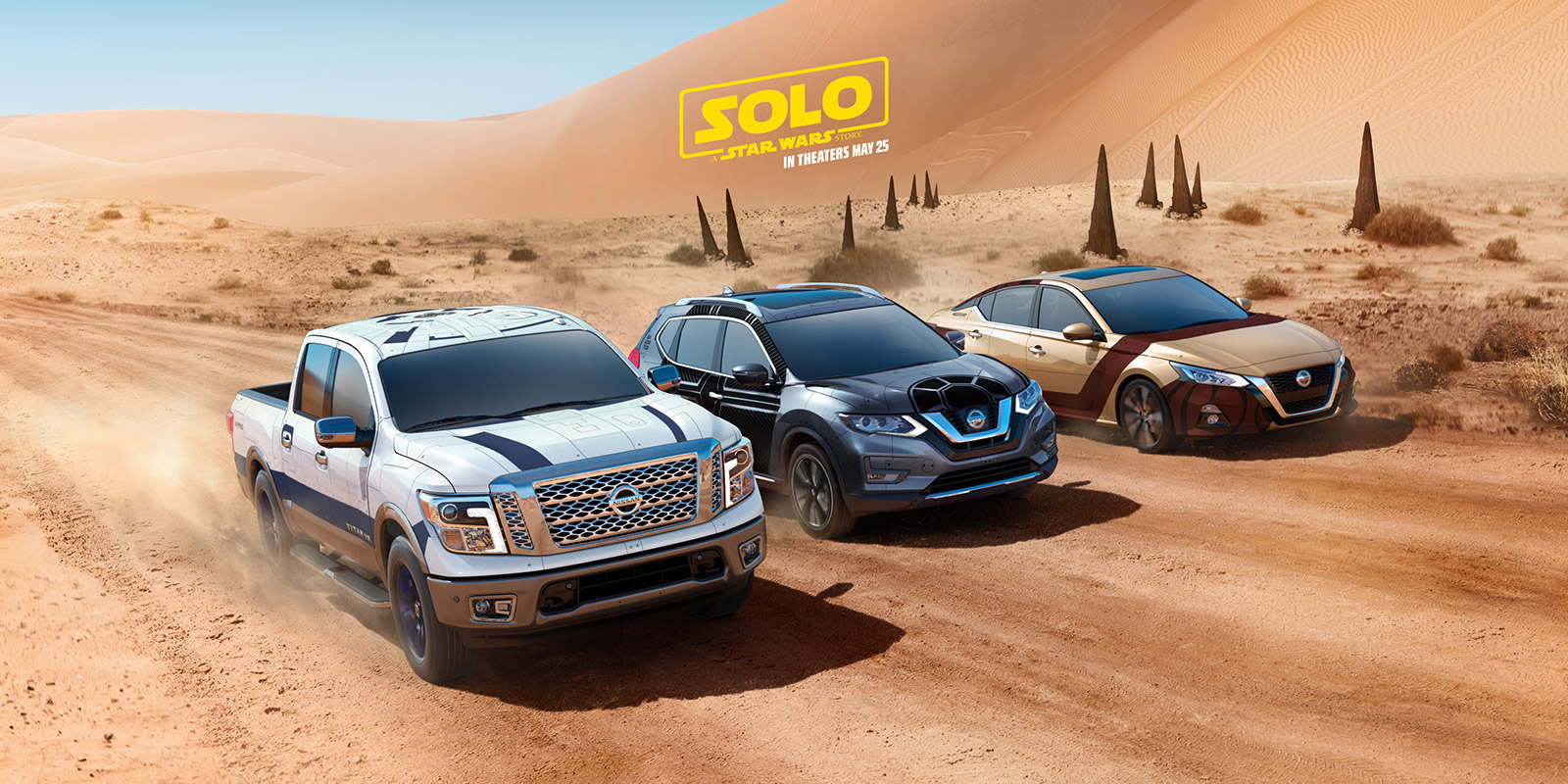 Watch: Nissan launches promotional campaign celebrating the new star wars film