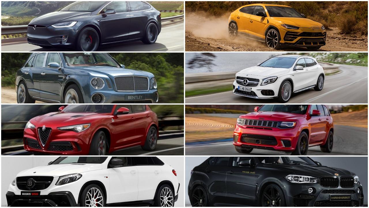 10 Fastest SUVs in 2017