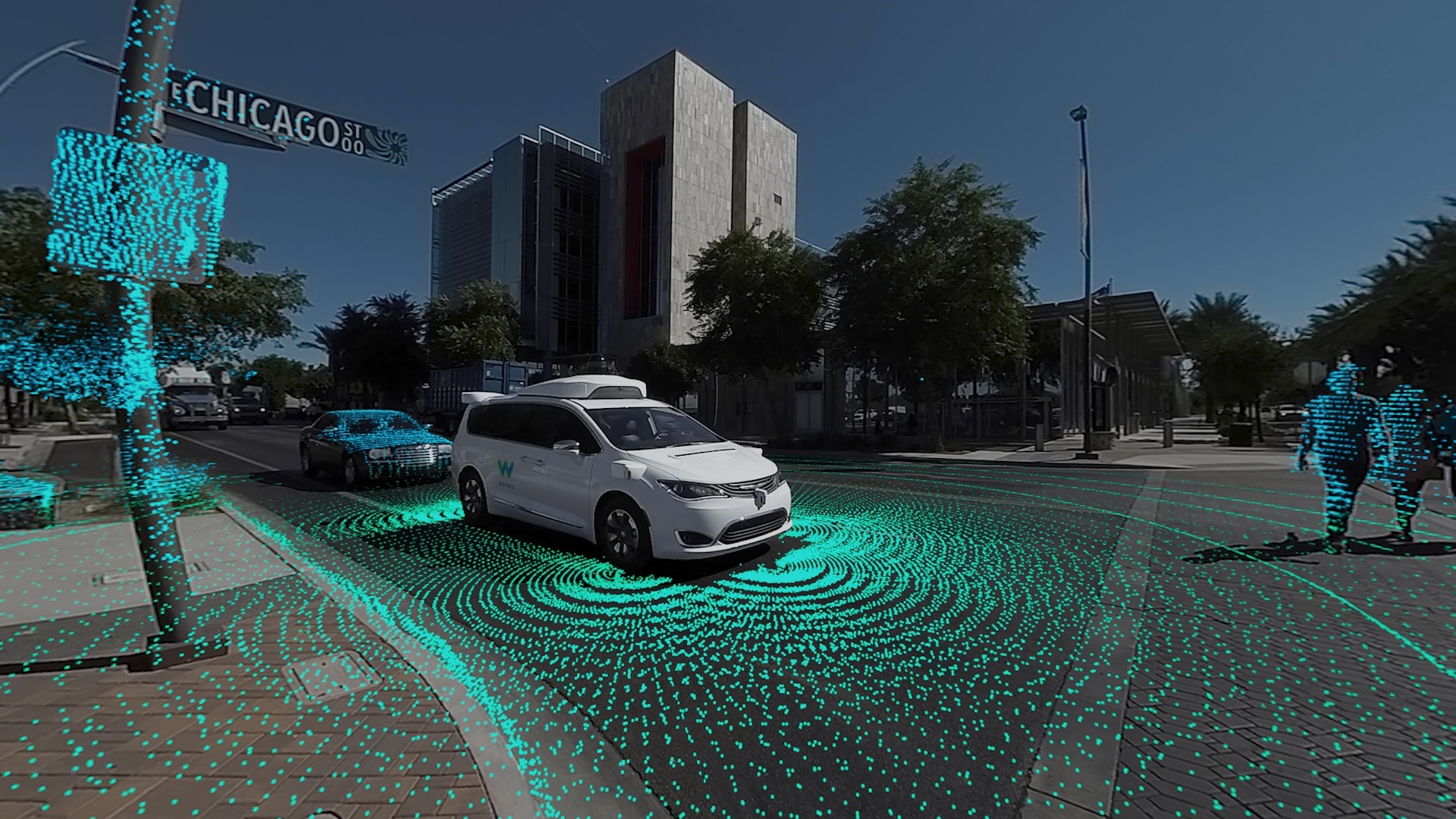 How Does Self-Driving Car See the World?