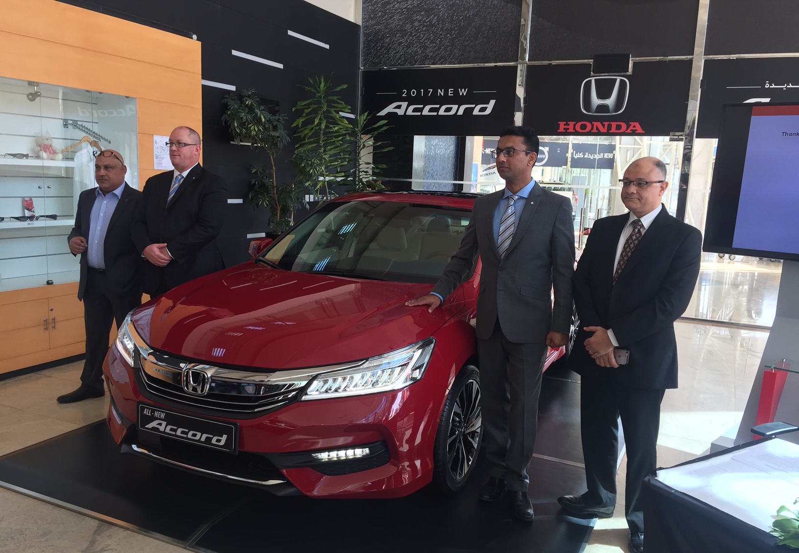 Honda Qatar Launches the All-New Honda Accord
