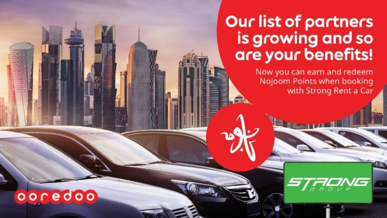 Rent a car in Qatar and pay using Nojoom points