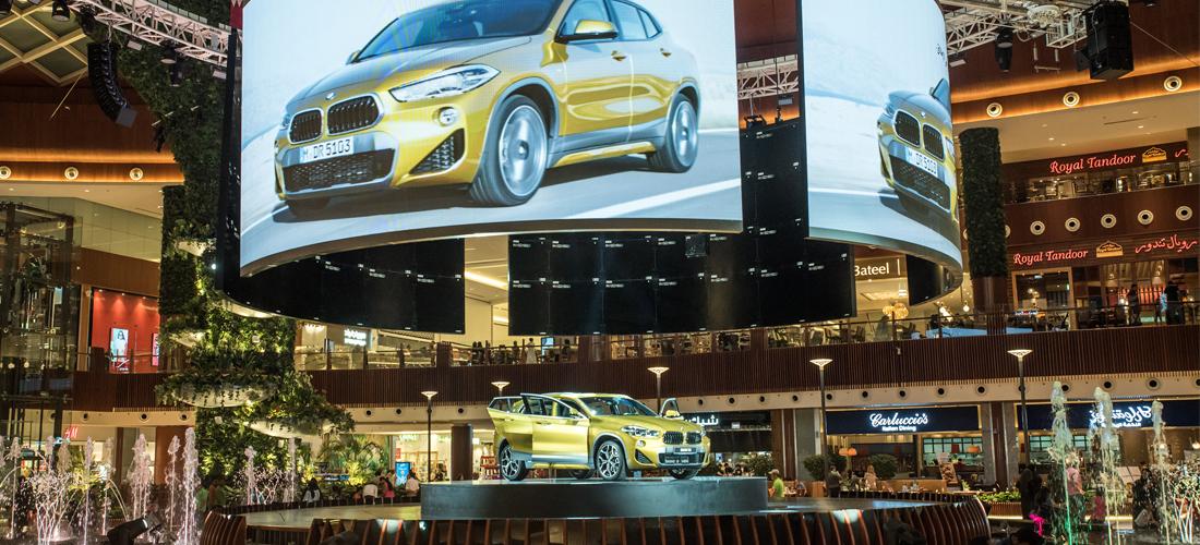 Alfaradan reveals the new BMW X2 in Mall of Qatar